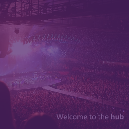 Welcome to the Hub Purple Thumbnail